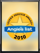Gralak Tuckpointing and Waterproofing 2010 Angies List Super Service Award