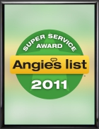 Gralak Tuckpointing and Waterproofing 2011 Angies List Super Service Award