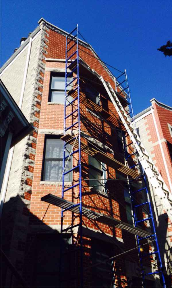 Brick by brick. Block by block.House by House. Another  Gralak waterproofing and masonry licensed contractors project in Chicago