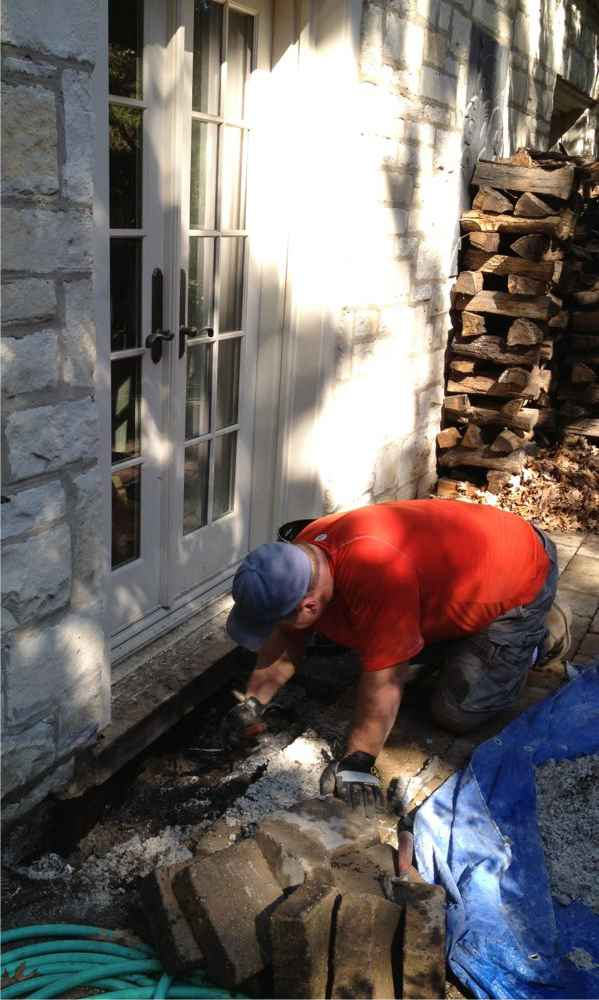 Concrete waterproofing .Masonry repairs by Gralak Licensed Masonry Tuckpointing Chicago
